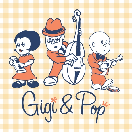 Gigi & Pop Bumper Sticker!