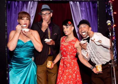 Free ice cream with Bella Blue - a dream come true! 8.23.13 Allways Lounge N.O. photo: Jason Kruppa