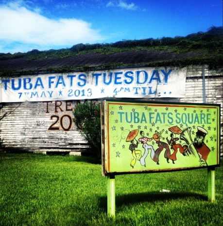 Tuba Fats in Treme - photo: Kenball
