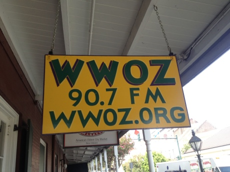 WWOZ New Orleans Radio photo: Kenball